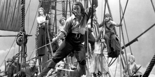 Erroll Flynn pirate